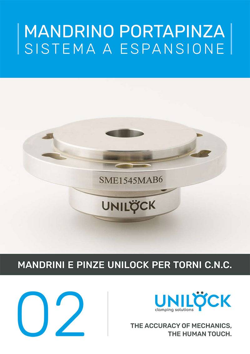 Unilock - Mandrino Portapinza Sistema a espansione