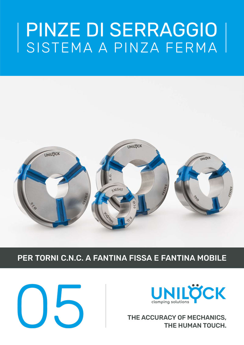 Unilock - Pinze di serraggio Sistema a pinza ferma
