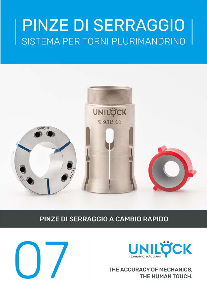 Unilock - Pinze di serraggio Sistema per torni plurimandrino