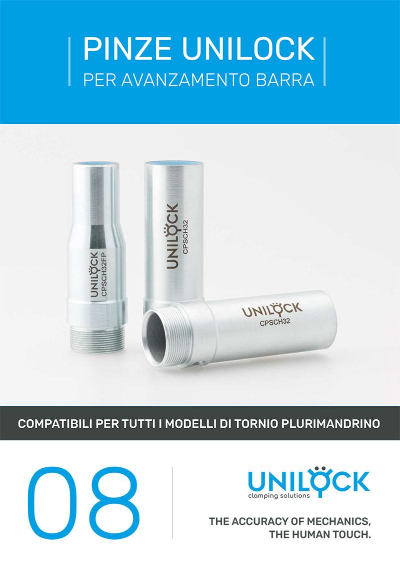 Unilock - Pinze Unilock per avanzamento barra