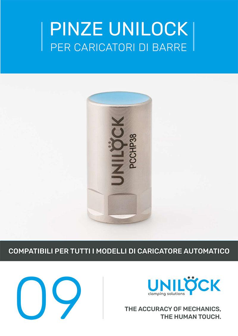 Unilock - Pinze Unilock per caricatori barre
